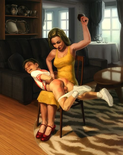 after my spanking