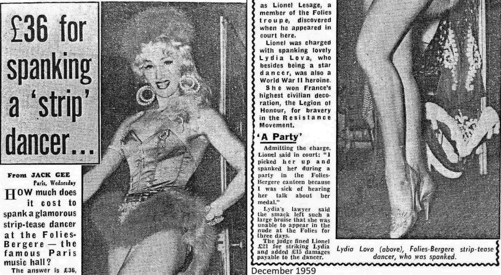 Lydia de Lipski newspaper article, December 1959 300kb.jpg
