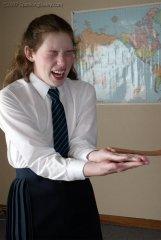 Schoolgirl CP - Hand Tawsing