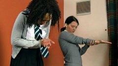 Schoolgirl CP - Hand Caning