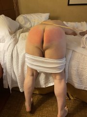 The Disciplinarian gets a spanking